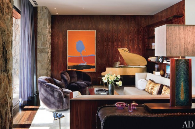 Preciously Me blog : Precious Room of the Week (Jennifer Aniston living room)