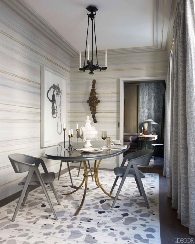 Dining Rooms From Elle Decor: Chez Jean-Louis Deniot