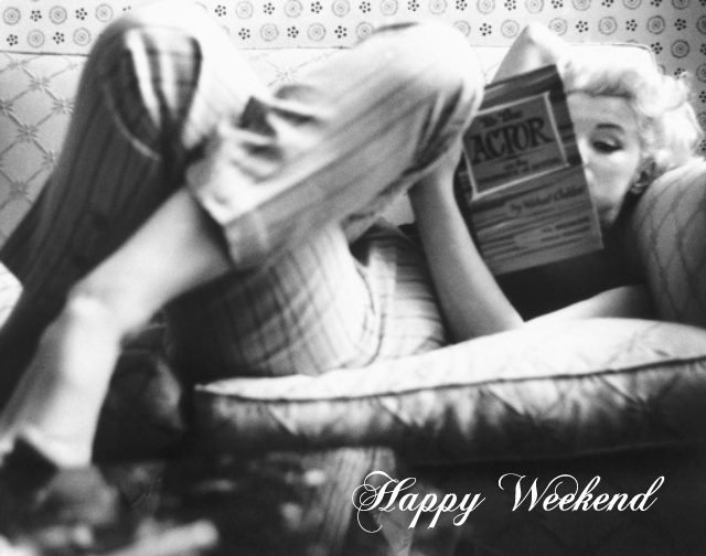 Preciously Me blog : Happy Weekend with Marilyn