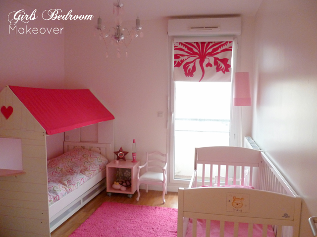 Preciously Me blog : Girls bedroom makeover Before