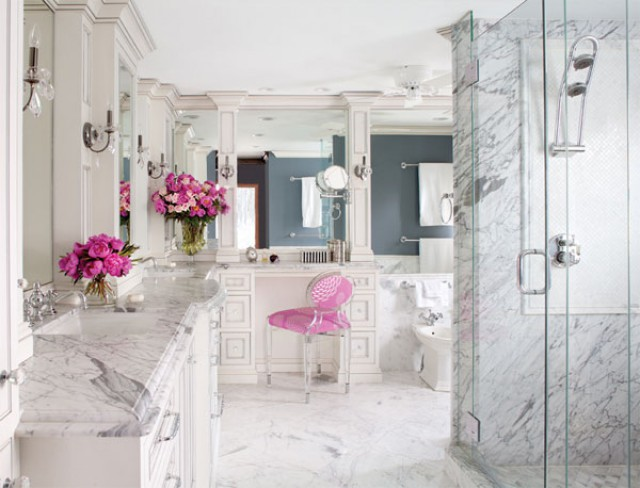 Marble Bathroom Preciously Me