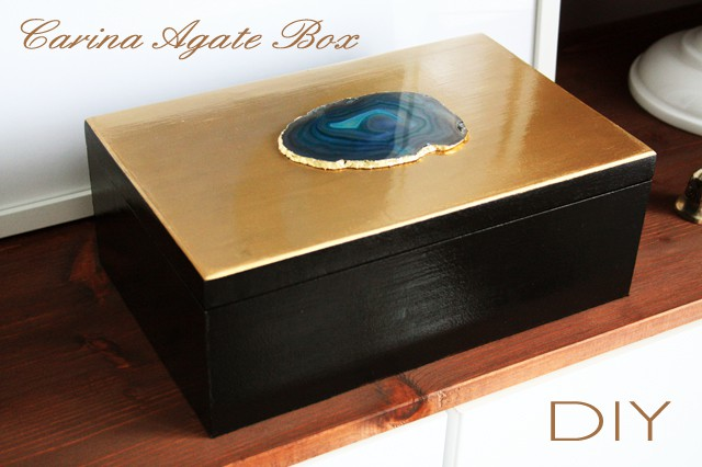 Preciously Me blog : DIY Carina Agate Box