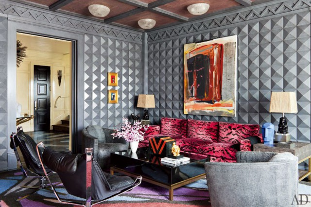 Preciously Me blog : Glamorous home in Bel Air by Kelly Wearstler