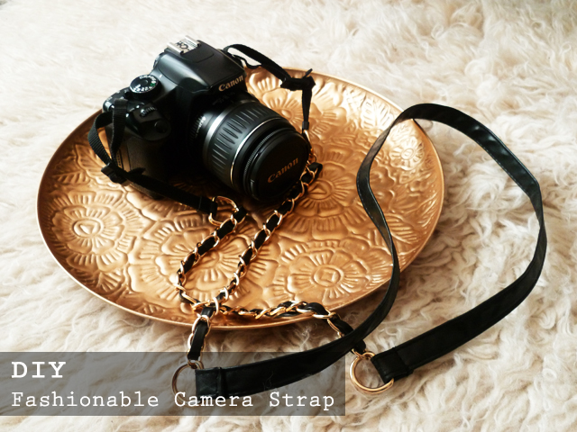 Preciously Me blog : DIY Fashionable Camera Strap