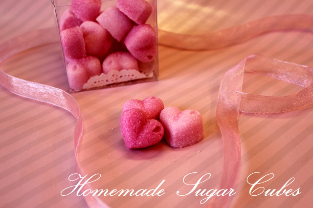 Preciously Me blog : DIY / Homemade Sugar Cubes