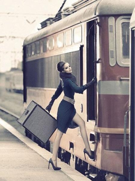 Preciously Me blog : Train to London