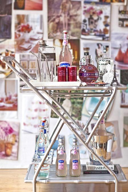 Preciously Me blog : Bar Cart Obsession
