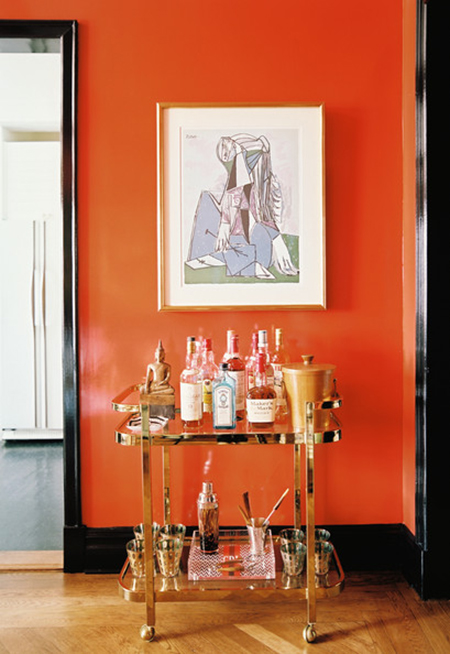 Preciously Me blog : Bar Cart Obsession