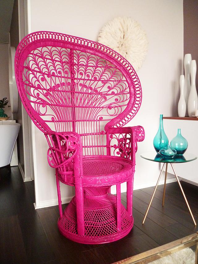 Preciously Me blog : peacock chair