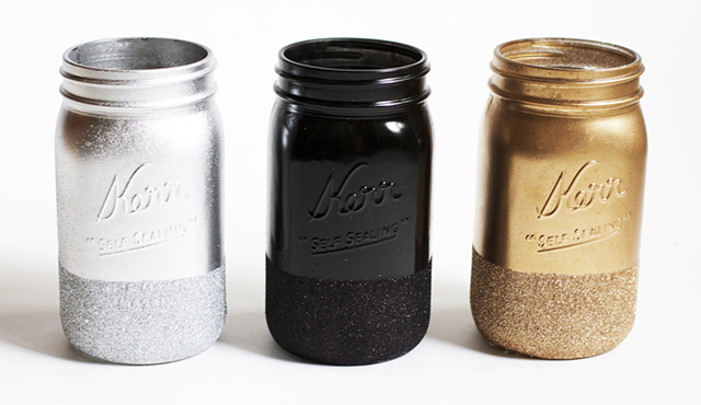 Preciously Me blog : DIY Glitter Jars