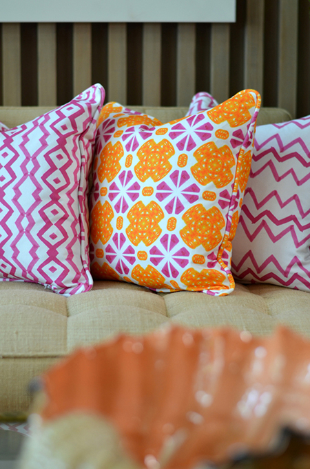 Preciously Me blog : Mimosa Lane pillows
