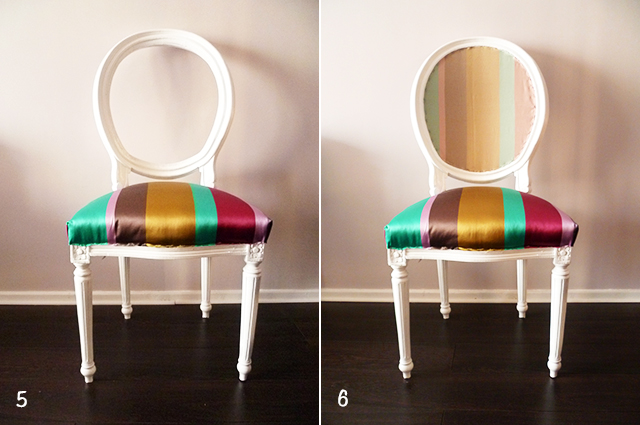 Preciously Me blog : DIY - Reupholster a Chair
