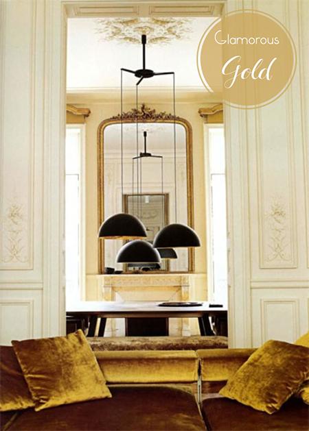 Preciously Me blog : Glamorous Gold