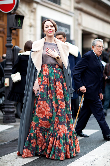 Preciously me blog : Currently Obsessed - Floral Maxi Skirt