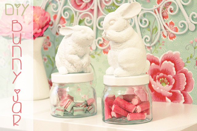 Preciously me blog : DIY Bunny Jar