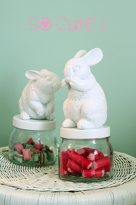 Preciously me blog : DIY Bunny Jar