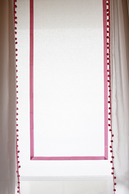 Preciously Me blog : DIY Customize Blinds and Bedding