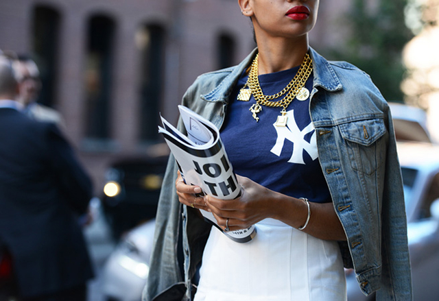 Preciously Me blog : NY Fashion Street Style Spring '14