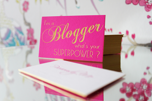 Preciously Me blog : My Precious Business Cards