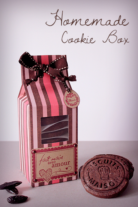 Preciously Me blog : Homemade Cookie Box