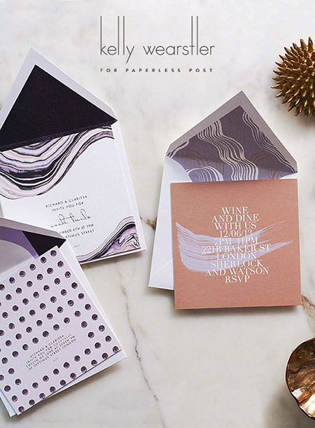 Preciously Me blog : Kelly Wearstler stationery
