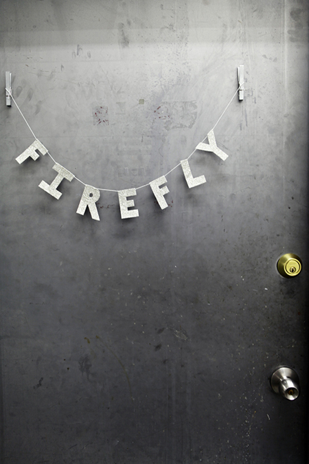 Preciously Me blog : The Firefly Events studio via the Glitter Guide