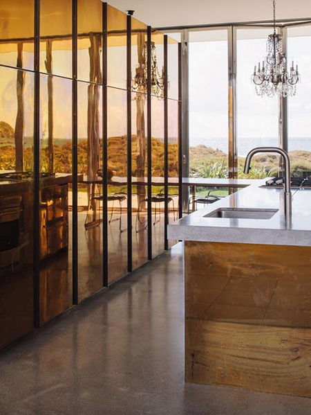 Preciously Me blog : Dune House in New Zealand - Kitchen