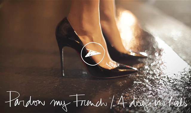 Preciously Me blog : Garance Doré - pardon my french, A day in heels