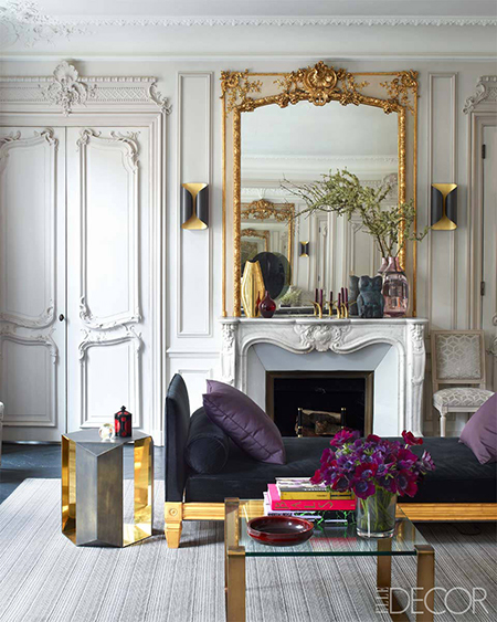 Preciously Me blog : Glamorous Paris Apartment