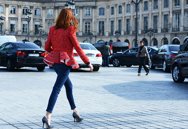 Preciously Me blog : Paris Fashion Week Street Style