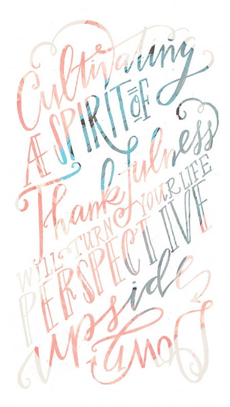 Preciously Me blog : To be Thankful