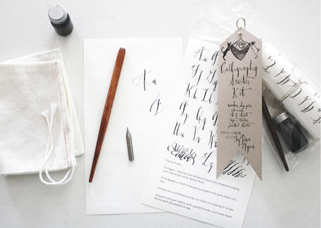 Preciously Me blog : Calligraphy starter set
