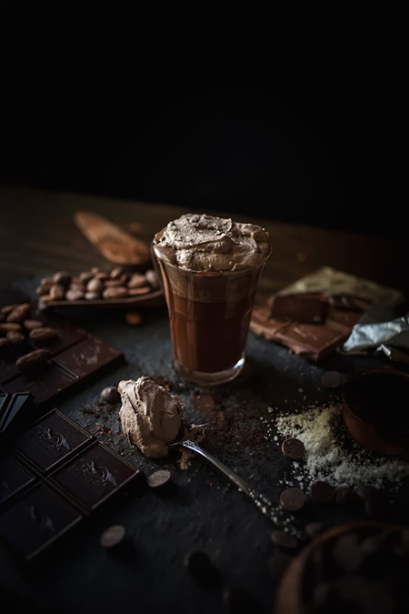 Preciously Me blog : Melted Hot Chocolate with Sea Salt