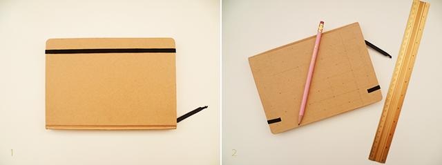 Preciously Me blog : DIY - Gold Polka Dot Journal