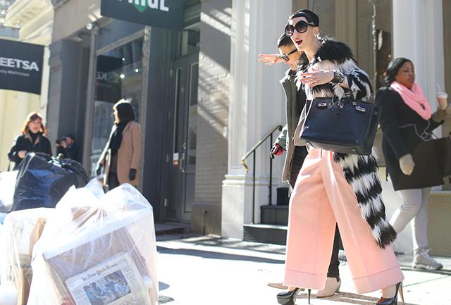 Preciously Me blog : NYFW Street Style
