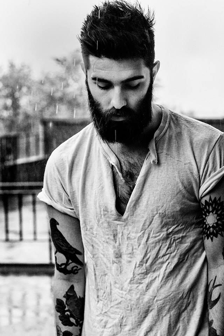 Preciously Me blog : Beard Beauty