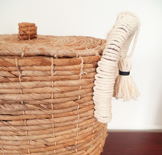 Preciously Me blog : DIY - Customize a Basket
