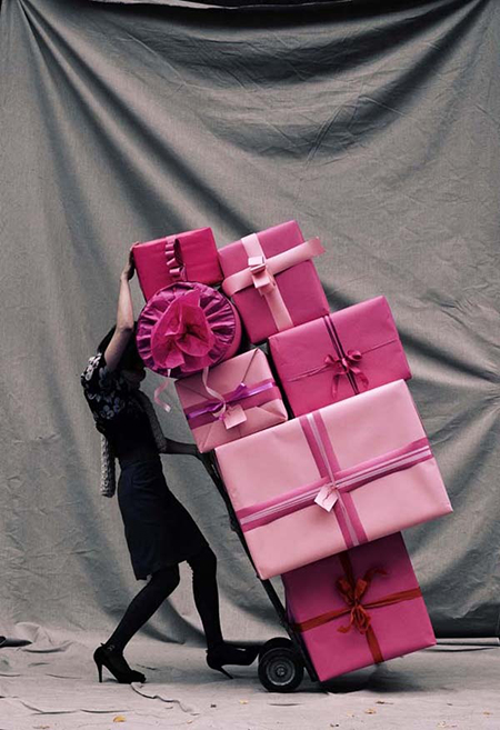 Preciously Me blog : Pretty pink packages