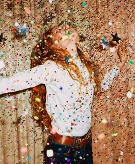 Preciously Me blog : Sparkles rain