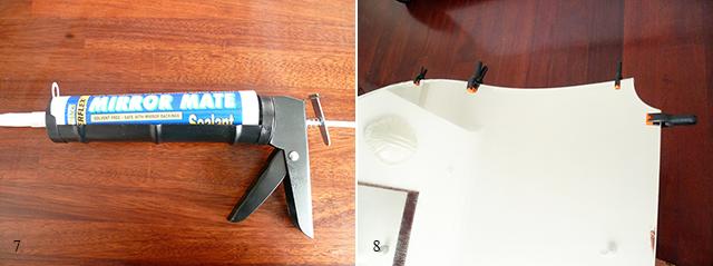 Preciously Me blog : DIY - Mirror Headboard