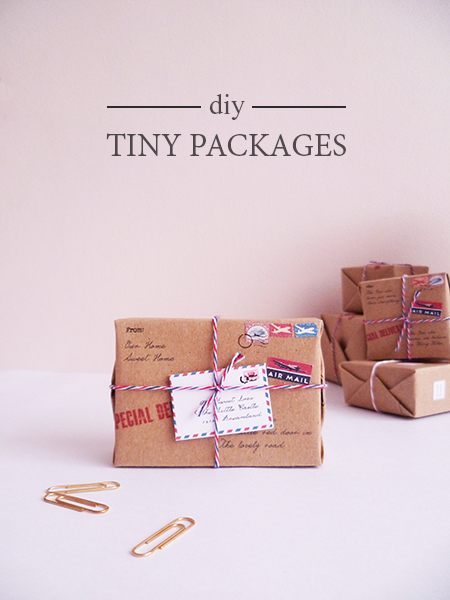Preciously Me blog : DIY - Tiny Packages. Perfect for Valentine day gift!