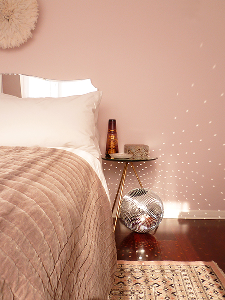 Preciously Me blog : Bedroom update - Colour Mood Pink