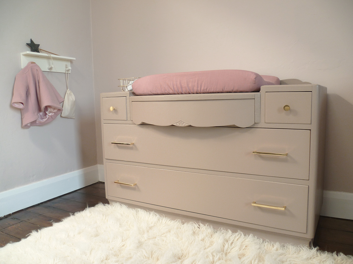 Preciously Me blog : One Room Challenge -DIY Dresser makeover