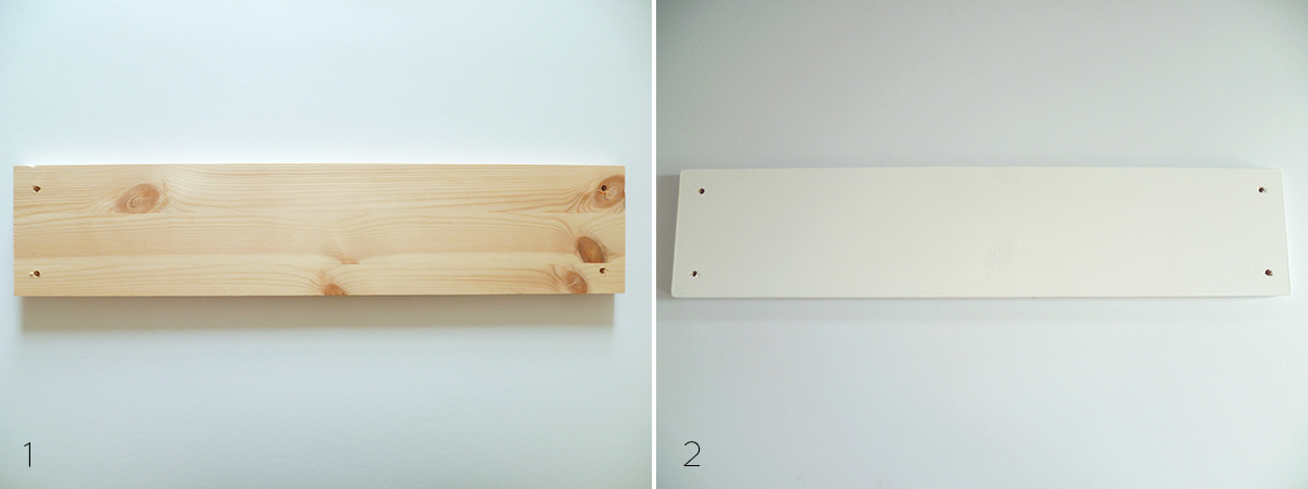 Preciously Me blog : DIY Wooden Beads Shelves