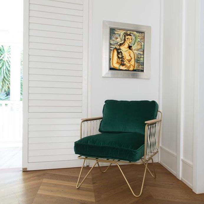 Preciously Me blog : Coup de Coeur Honoré Déco - Croisette armchair