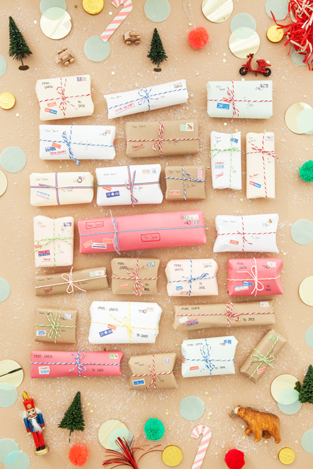 Preciously me blog : DIY - tiny packages advent calendar