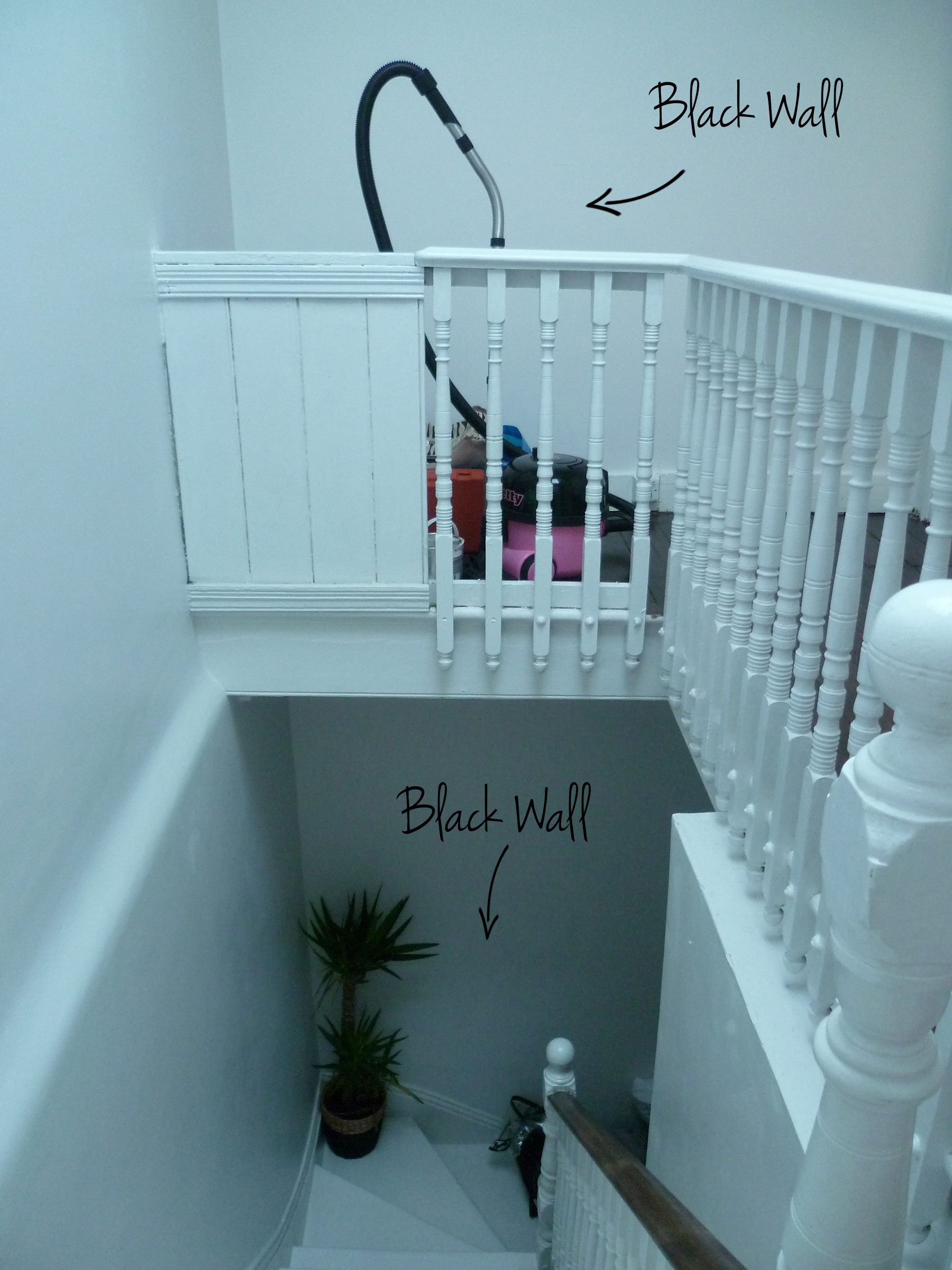 Preciously Me blog : Entry and Staircase Makeover - The plan