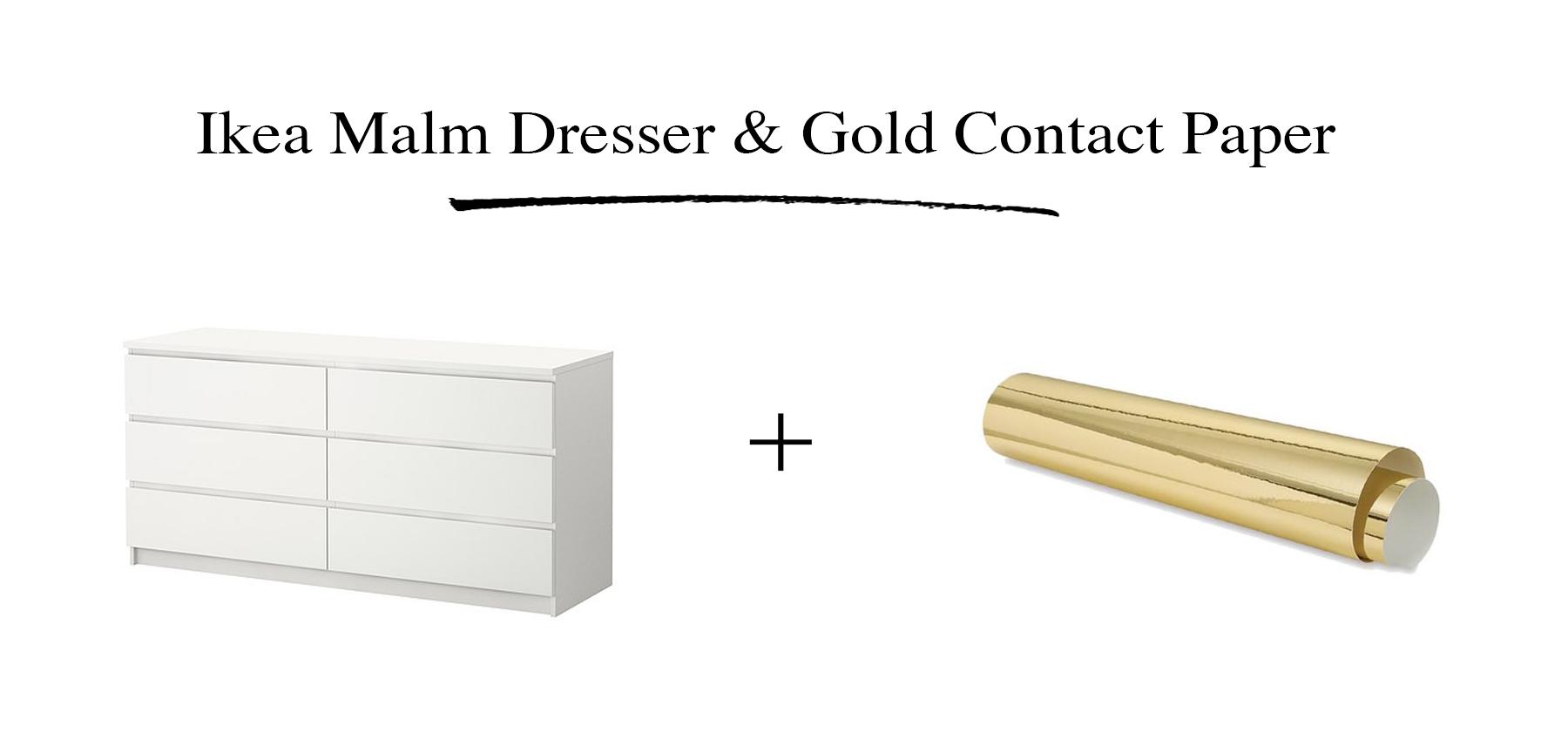 Diy Vintage Style Gold Dresser Preciously Me