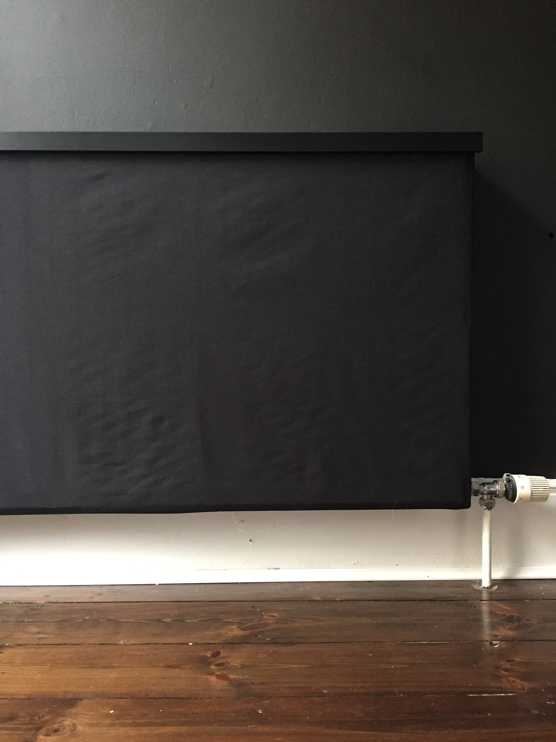 Preciously Me blog : One Room Challenge - DIY Radiator cover
