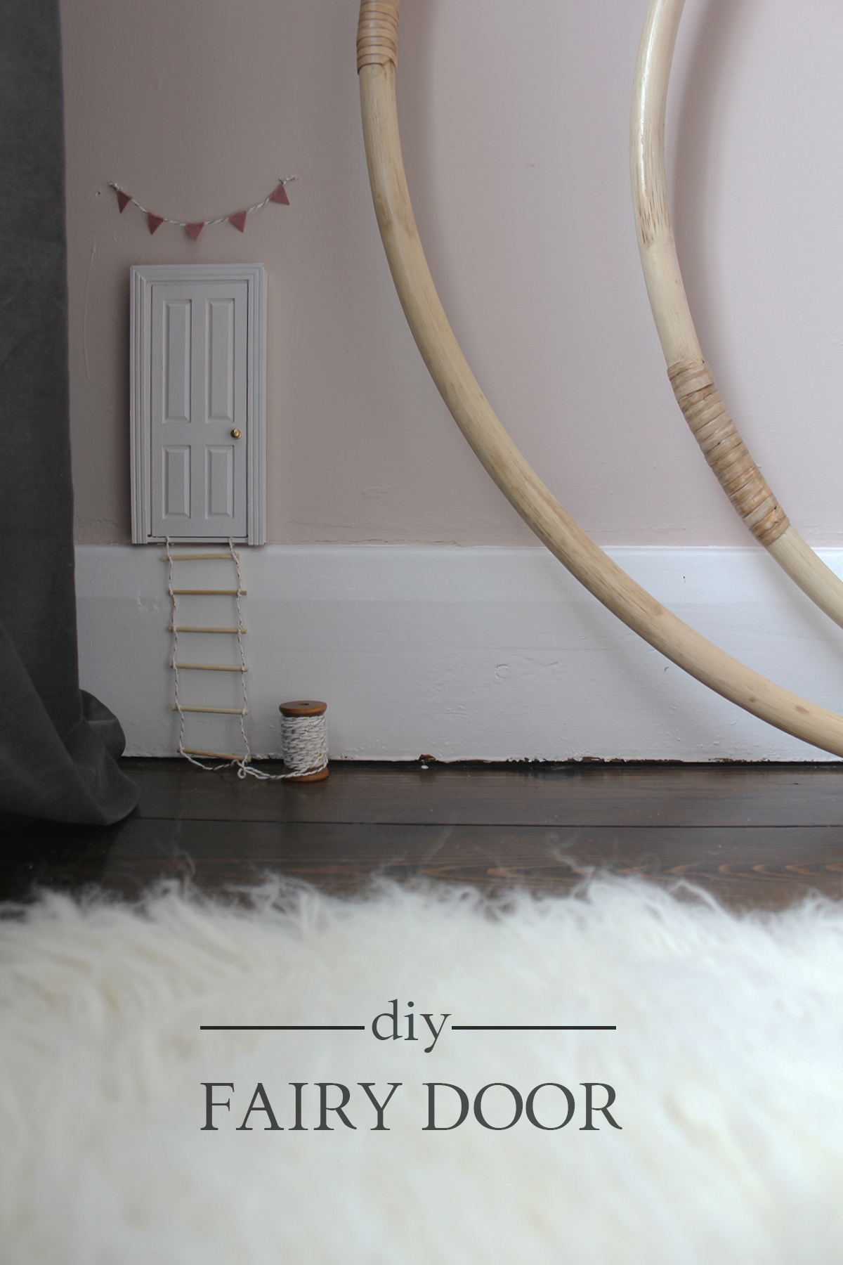 Preciously Me blog : DIY Adorable Fairy Door using a simple dollhouse door